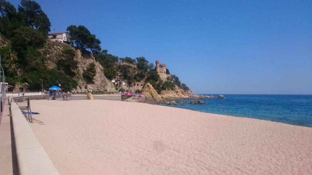 costa brava bleu voyage plage