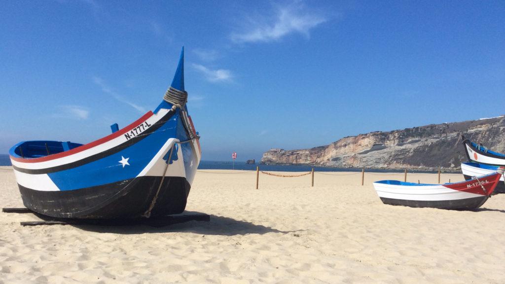 plage mer soleil portugal porto bleu voyage